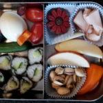 Bentoboxen zonder gluten gezonde alternatieve lunch trommel